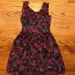 Pins & Needles XS Rose Dress
